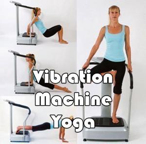 yoga vibration plate